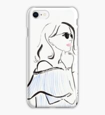 Festival Season Watercolour Illustration iPhone Case/Skin