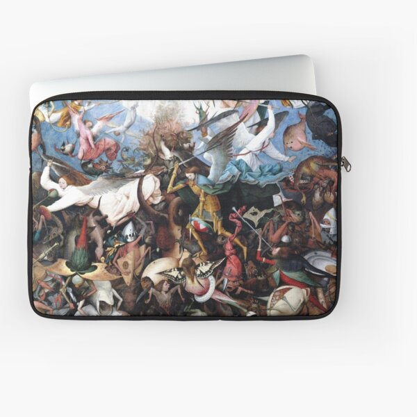 Pieter Bruegel The Fall of the Rebellious Angels 1562 Laptop Sleeve