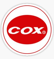 Cox vintage model engines USA Sticker