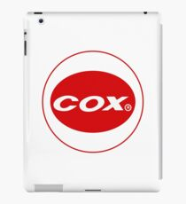 Cox vintage model engines USA iPad Case/Skin