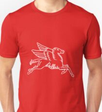 Camiseta ajustada Dallas Texas Pegasus White