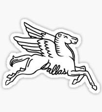 Dallas Texas Pegasus  Sticker