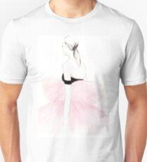 Pink Watercolour Illustration Unisex T-Shirt