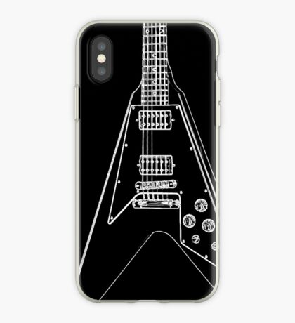 black glowstrings 6 iPhone Case