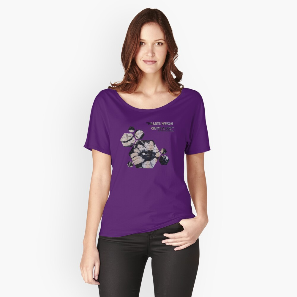 Floating Floral Women's Relaxed Fit T-Shirt Front