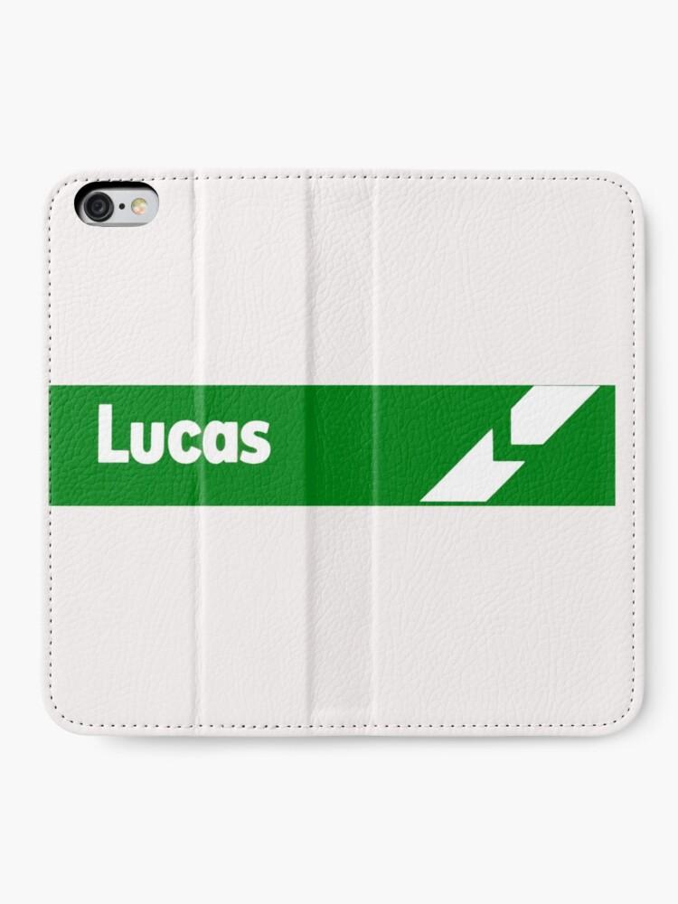 Alternate view of Lucas Electrics iPhone Wallet