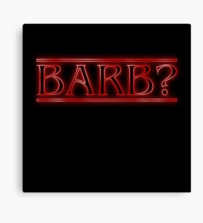 Barb? Canvas Print