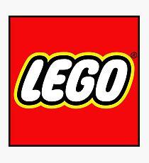lego logo Photographic Print