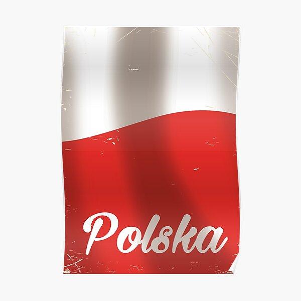 Polska, Poland vintage travel poster Poster
