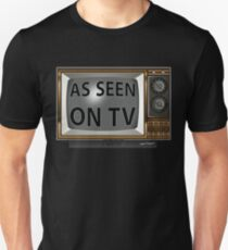 As Seen on TV Vintage  Funny Design  T-Shirt