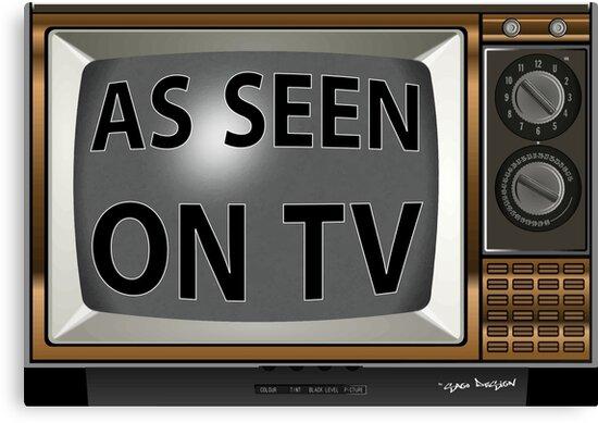 As Seen on TV Vintage  Funny Design  by Sago-Design
