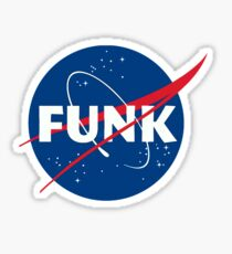 Space Funk Sticker