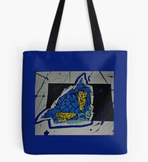 Collaging Characters Tote Bag