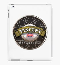 The Vincent Motorcycle England iPad Case/Skin