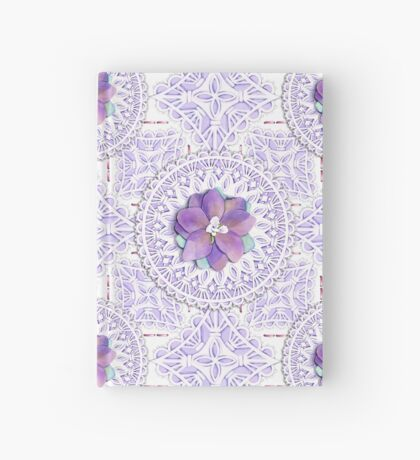 Victorian Flower Lace Hardcover Journal