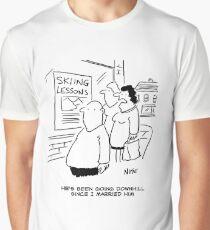 Doing the men's downhill Graphic T-Shirt