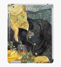 Portrait of Dr. Gachet by Vincent Van Gogh iPad Case/Skin