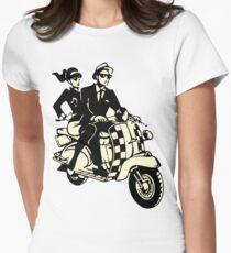 RUDE BOY SKA Womens Fitted T-Shirt