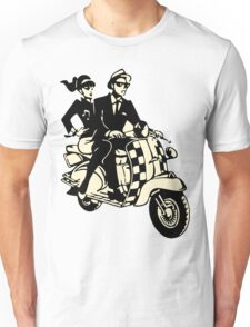 Rude Boy and Girl Scooter T-shirt