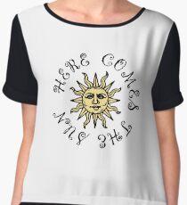 Here Comes The Sun Women's Chiffon Top