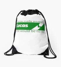 If Lucas Made Weapons, There Would Be No War Drawstring Bag