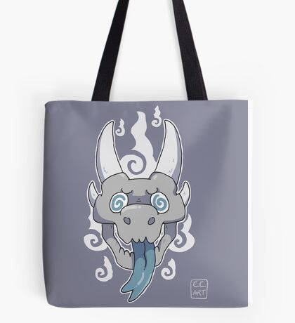 Dragon skull Tote Bag
