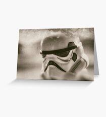 Lego Storm Trooper Vintage Grußkarte