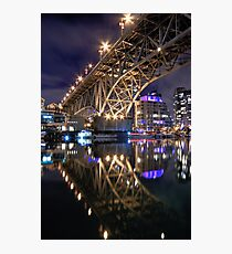 The Granville Street Bridge Photographic Print
