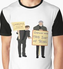 Father Ted Careful now Graphic T-Shirt
