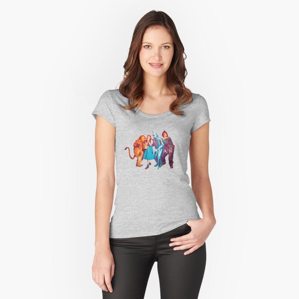 Wizard of Oz Camiseta entallada de cuello ancho
