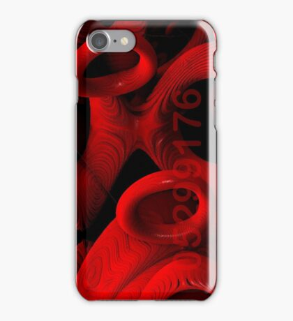 red rings of mercury iPhone Case/Skin