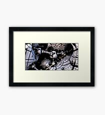 where guitars come from Framed Print