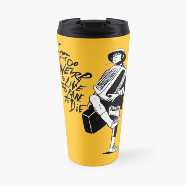 Weird and Rare - Fear Loathing Vegas Travel Mug