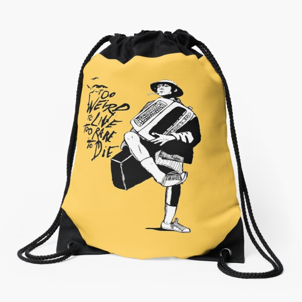 Weird and Rare - Fear Loathing Vegas Drawstring Bag