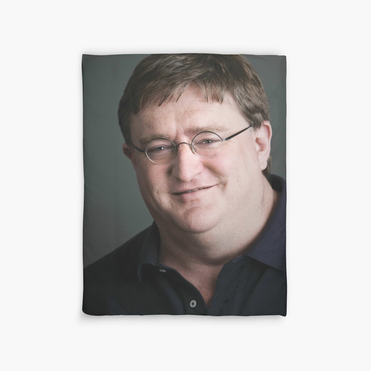 Quot Gabe Newell Steam God Quot Duvet Covers By Marmbo Redbubble