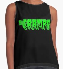 The Cramps (green) Contrast Tank