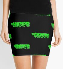 The Cramps (green) Mini Skirt