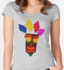 Aku Aku Remastered Women's Fitted Scoop T-Shirt