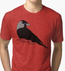 Cornish Jackdaw Project - logo Tri-blend T-Shirt