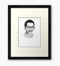 Geeks and Freaks Framed Print