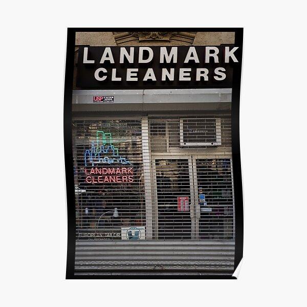 Landmark Cleaners Poster