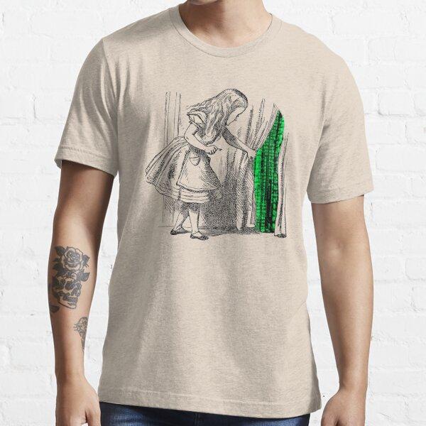 Suivez le lapin blanc T-shirt essentiel