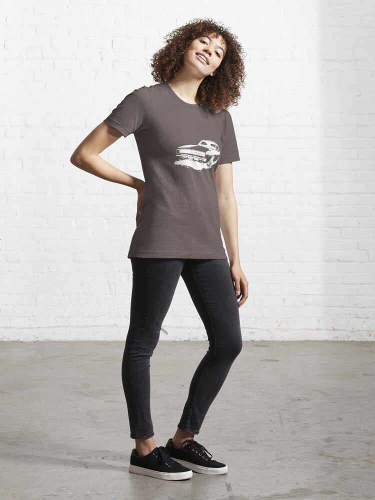 Alternate view of Charger Stencil - White Essential T-Shirt