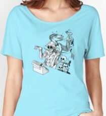 HS Thompson writing Women's Relaxed Fit T-Shirt