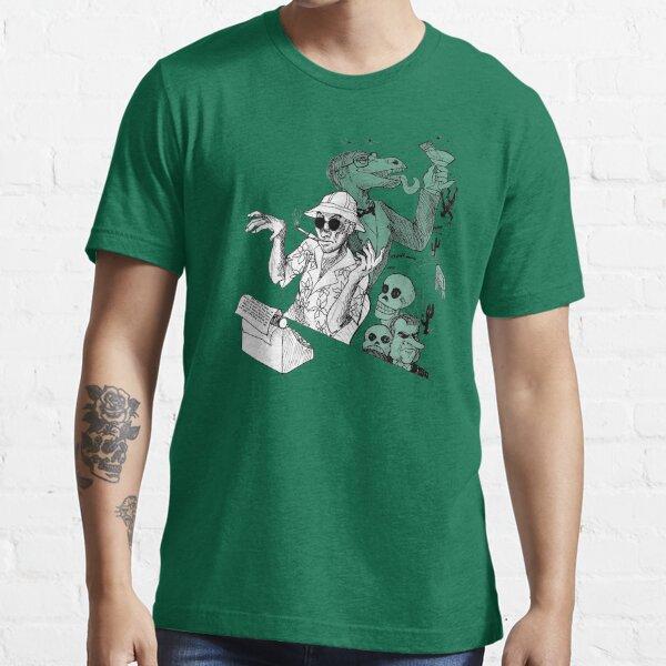 HS Thompson writing Essential T-Shirt