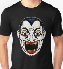 Dracula Vampire Vintage Halloween Mask T-Shirt