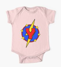 My Cute Little Super Hero - Letter Y Kids Clothes