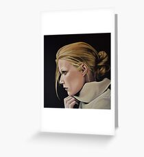 Gwyneth Paltrow Painting Greeting Card