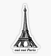 Oui Oui Paris Sticker