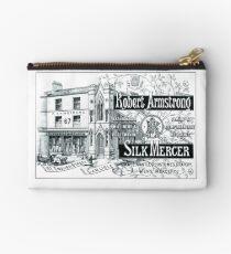 His Name is Robert Armstrong, the Silk Mercer Zipper Pouch